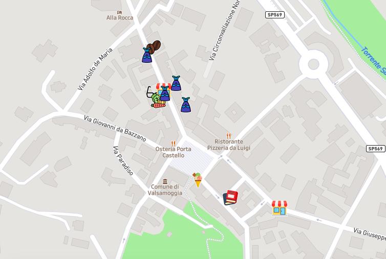 Mappature per le consegne a domicilio a Bologna e provincia